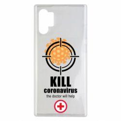 Чехол для Samsung Note 10 Plus Kill coronavirus the doctor will help