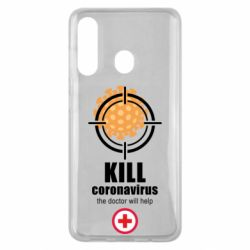 Чехол для Samsung M40 Kill coronavirus the doctor will help