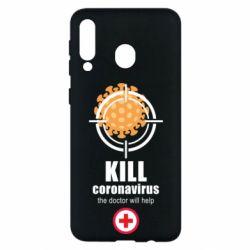 Чехол для Samsung M30 Kill coronavirus the doctor will help