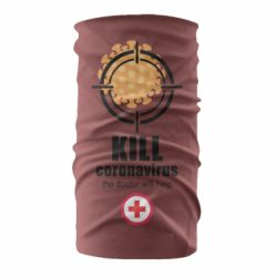 Бандана-труба Kill coronavirus the doctor will help