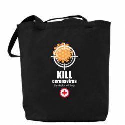 Сумка Kill coronavirus the doctor will help