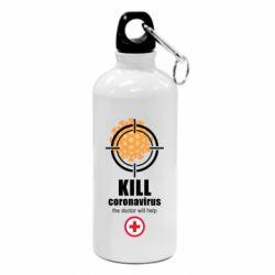 Фляга Kill coronavirus the doctor will help