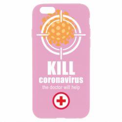 Чохол для iPhone 6 Plus/6S Plus Kill coronavirus the doctor will help