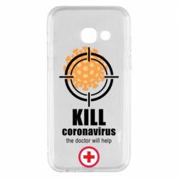 Чохол для Samsung A3 2017 Kill coronavirus the doctor will help
