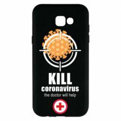Чохол для Samsung A7 2017 Kill coronavirus the doctor will help