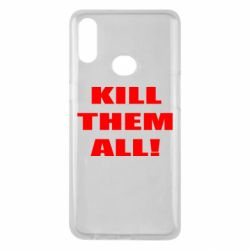 Чехол для Samsung A10s Kill them all!