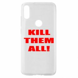 Чехол для Xiaomi Mi Play Kill them all!