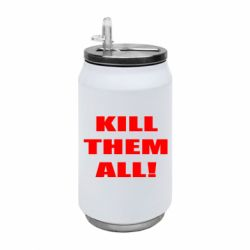 Термобанка 350ml Kill them all!