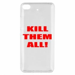 Чехол для Xiaomi Mi 5s Kill them all!