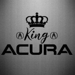 Наклейка King acura