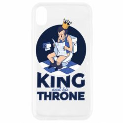 Чохол для iPhone XR King and his throne