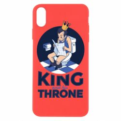 Чохол для iPhone Xs Max King and his throne