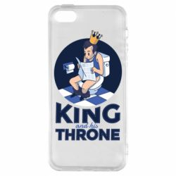 Чохол для iphone 5/5S/SE King and his throne