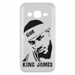 Чехол для Samsung J2 2015 King James - FatLine