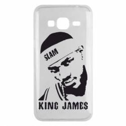 Чехол для Samsung J3 2016 King James - FatLine