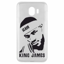 Чехол для Samsung J4 King James - FatLine