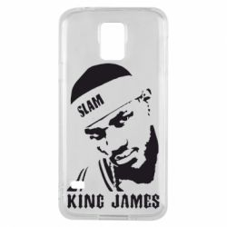 Чехол для Samsung S5 King James - FatLine