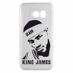 Чехол для Samsung S6 EDGE King James - FatLine