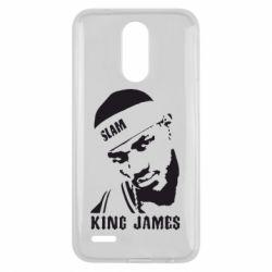 Чехол для LG K10 2017 King James - FatLine