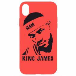 Чехол для iPhone XR King James