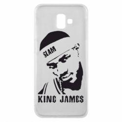Чехол для Samsung J6 Plus 2018 King James - FatLine