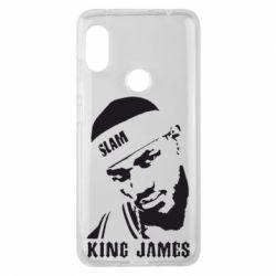 Чехол для Xiaomi Redmi Note 6 Pro King James - FatLine