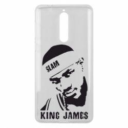 Чехол для Nokia 8 King James - FatLine