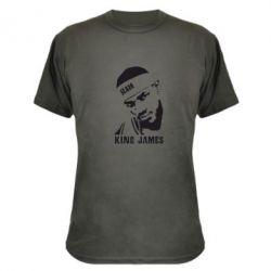 Камуфляжная футболка King James - FatLine