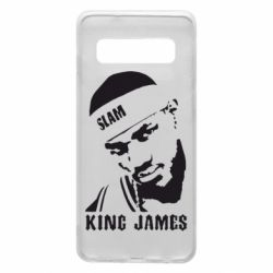 Чехол для Samsung S10 King James