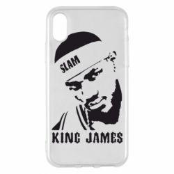 Чехол для iPhone X King James - FatLine