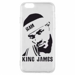 Чехол для iPhone 6/6S King James - FatLine