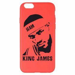 Чехол для iPhone 6 Plus/6S Plus King James - FatLine