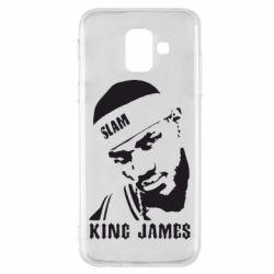 Чехол для Samsung A6 2018 King James - FatLine