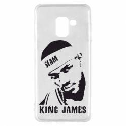 Чехол для Samsung A8 2018 King James - FatLine