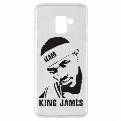 Чехол для Samsung A8+ 2018 King James - FatLine