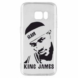 Чехол для Samsung S7 King James - FatLine