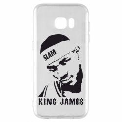 Чехол для Samsung S7 EDGE King James - FatLine