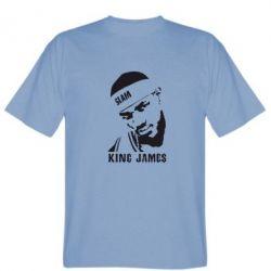 Мужская футболка King James - FatLine