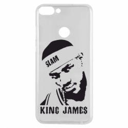 Чехол для Huawei P Smart King James - FatLine