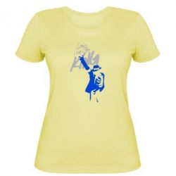 Женская футболка King MJ - FatLine
