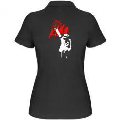 Женская футболка поло King MJ - FatLine