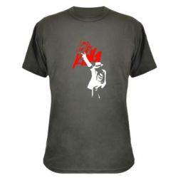 Камуфляжная футболка King MJ - FatLine