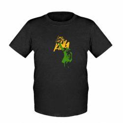 Детская футболка King MJ