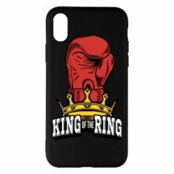 Чехол для iPhone X king of the Ring - FatLine