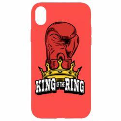 Чехол для iPhone XR king of the Ring - FatLine