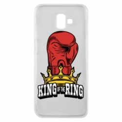 Чехол для Samsung J6 Plus 2018 king of the Ring - FatLine