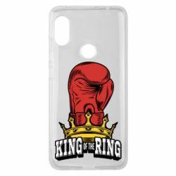 Чехол для Xiaomi Redmi Note 6 Pro king of the Ring - FatLine