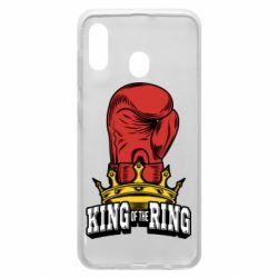 Чохол для Samsung A20 king of the Ring