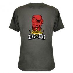 Камуфляжна футболка king of the Ring