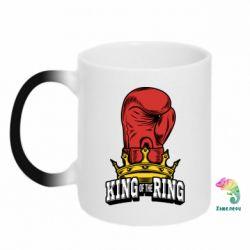 Кружка-хамелеон king of the Ring